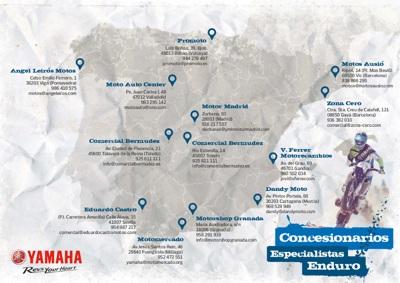 VFerrer es uno de los pocos concesionarios Yamaha off road de España
