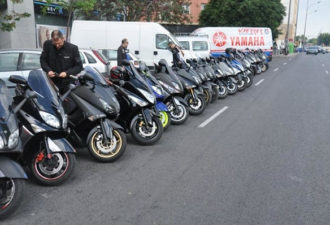 motos yamaha tmax participantes con vferrer
