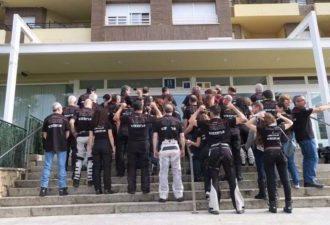 Participantes de la II concentracion nacional super tenere