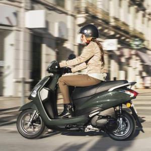 La Yamaha D'Elight esta pensada para desplazamientos por ciudad