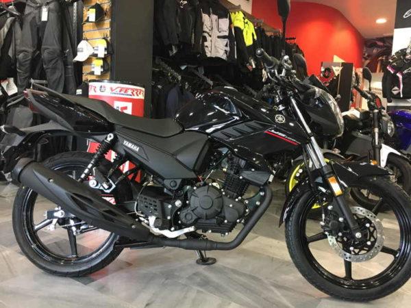 Nueva Yamaha YS125 negra en VFerrer