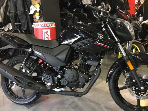 Nueva Yamaha YS125 negra 125 cc en VFerrer
