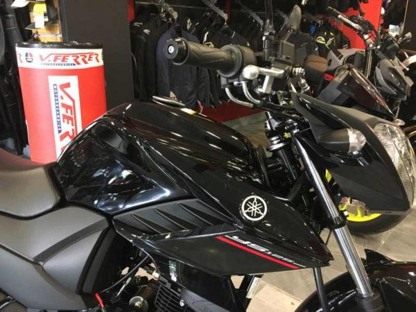 ven a ver la Nueva Yamaha YS125 negra en VFerrer