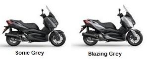 Colores de la Yamaha XMAX 125