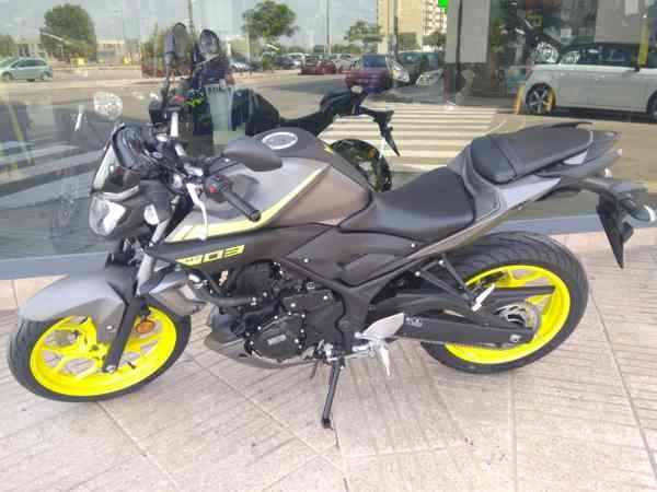 Ven a ver la nueva Yamaha MT03 en VFerrer