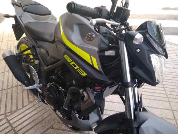 Consigue tu nueva Yamaha MT03 en VFerrer