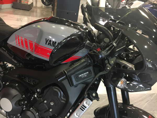 XSR 900 Abarth akrapovic exclusivo en VFerrer Valencia