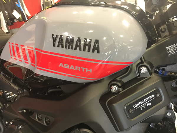 Yamaha XSR 900 Abarth edicion limitada en VFerrer Valencia