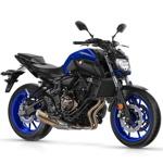 Yamaha MT 07 2018 de prueba en VFerrer Alzira Valencia y Gandia