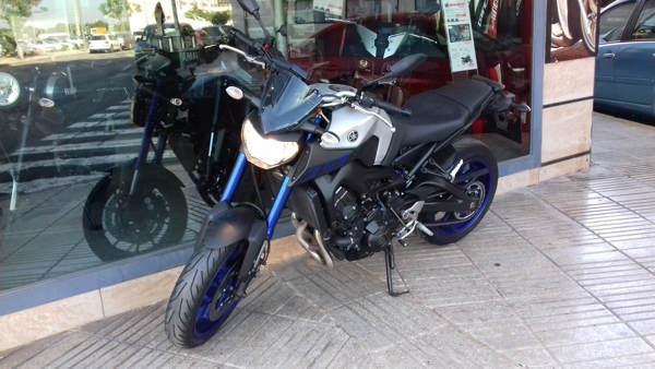 Yamaha MT-09 ABS 2016 moto usada en VFerrer