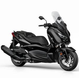 2019 Yamaha XMAX 400 IRON MAX con motor de 400 cc eu4