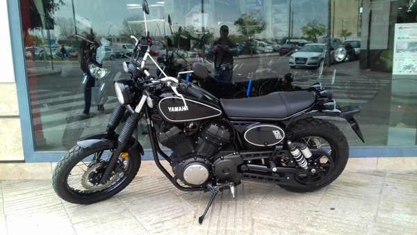 YAMAHA SCR950 moto usada del 2010 en VFerrer
