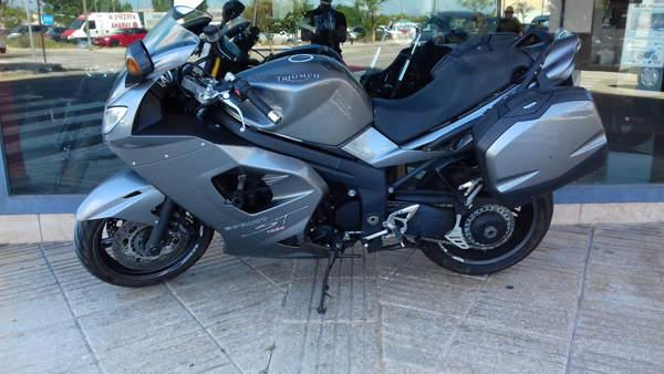 TRIUMPH SPRINT ST ABS 2008 gris moto usada VFerrer