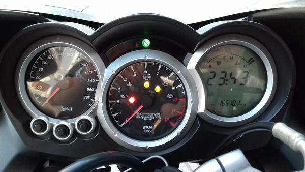 TRIUMPH SPRINT ST ABS 2008 gris de segunda mano en VFerrer