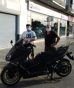 Yamaha TMax Black Max