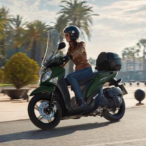 Xenter 125 la scooter más urbana de Yamaha